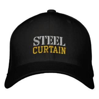 STEEL CURTAIN EMBROIDERED HAT
