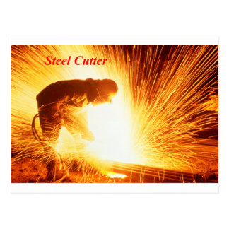 Steel Cutter Post Cards