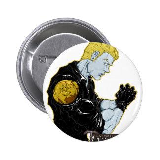 Steel Dawn-Ivan 6 Cm Round Badge