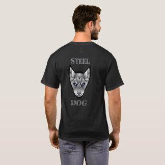 Steel Dog T-Shirt (left side logo)