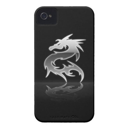 Steel Dragon Blackberry Bold Cover