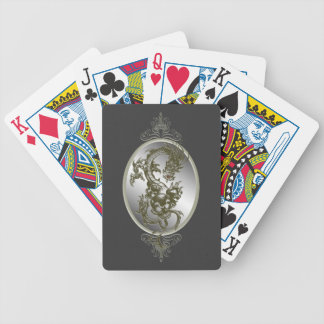 Steel Dragon Playing Cards