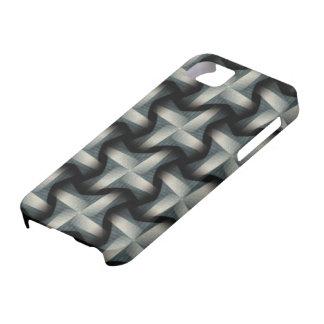 Steel Fan Breeze Abstract Weave Pattern iPhone 5 Cover