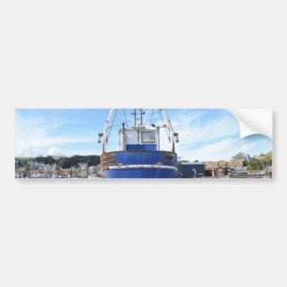 Steel Fishing Boat Bumper Stickers