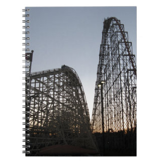 Steel Force and Thunderhawk Dorney Park Notebook