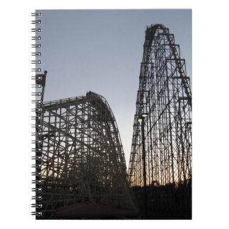 Steel Force and Thunderhawk Dorney Park Notebooks