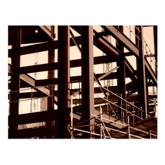 Steel Frame Construction Postcards