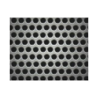 Steel Grid Canvas Prints