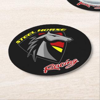 Steel Horse Racing Drink Coasters - Set of 6