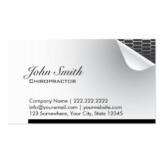 Steel Inside Chiropractor Business Card