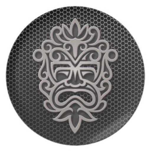 Steel Mesh Aztec Mask Plate