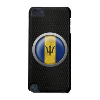 Steel Mesh Barbados Flag Disc Graphic iPod Touch (5th Generation) Case