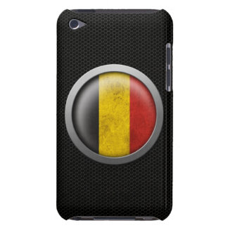 Steel Mesh Belgian Flag Disc Graphic iPod Touch Case