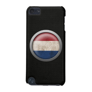 Steel Mesh Dutch Flag Disc Graphic iPod Touch 5G Cases