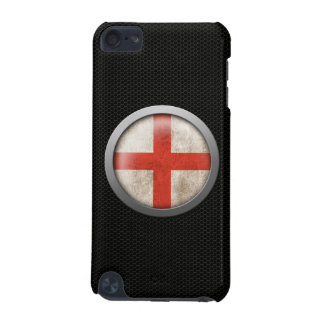 Steel Mesh English Flag Disc Graphic iPod Touch 5G Cover