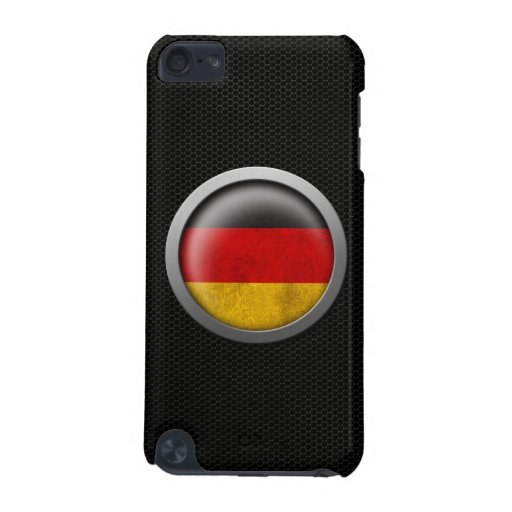 Steel Mesh German Flag Disc Graphic iPod Touch 5G Covers