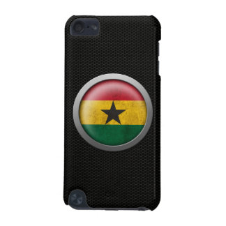 Steel Mesh Ghana Flag Disc Graphic iPod Touch 5G Covers