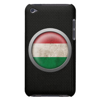 Steel Mesh Hungarian Flag Disc Graphic iPod Touch Cover