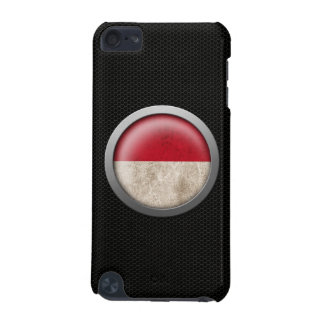 Steel Mesh Indonesian Flag Disc Graphic iPod Touch 5G Case