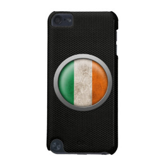 Steel Mesh Irish Flag Disc Graphic iPod Touch 5G Case