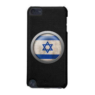 Steel Mesh Israeli Flag Disc Graphic iPod Touch 5G Case