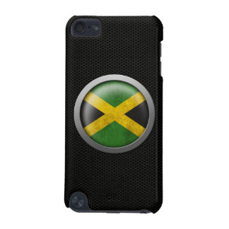 Steel Mesh Jamaican Flag Disc Graphic iPod Touch (5th Generation) Cover