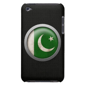 Steel Mesh Pakistani Flag Disc Graphic Barely There iPod Cover