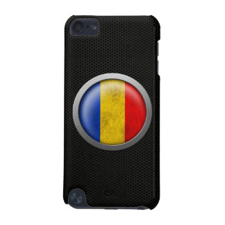 Steel Mesh Romanian Flag Disc Graphic iPod Touch (5th Generation) Cover