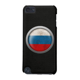 Steel Mesh Russian Flag Disc Graphic iPod Touch 5G Covers