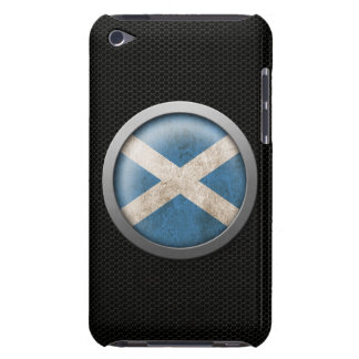 Steel Mesh Scottish Flag Disc Graphic iPod Touch Cases