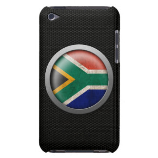 Steel Mesh South African Flag Disc Graphic iPod Case-Mate Cases
