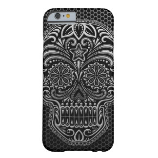 Steel Mesh Sugar Skull Barely There iPhone 6 Case