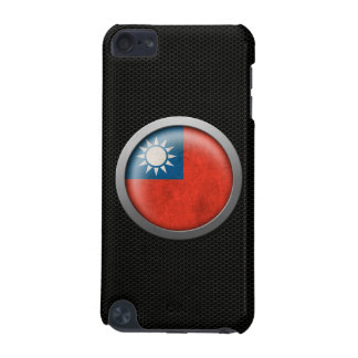 Steel Mesh Taiwanese Flag Disc Graphic iPod Touch 5G Case