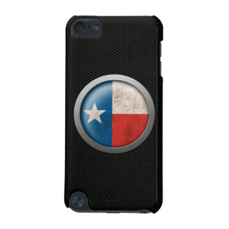 Steel Mesh Texas Flag Disc Graphic iPod Touch 5G Cases