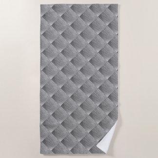 Steel metal 0132 beach towel