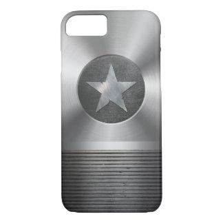 Steel & Metal Superhero Star Shield iPhone 8/7 Case