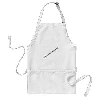 Steel nail standard apron