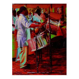 Steel Pan Drummer SD0104 Postcard