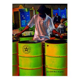Steel Pan Drummer SD0108 Postcard