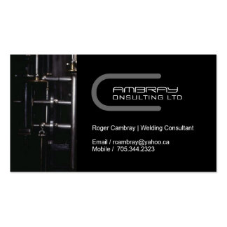 Steel Pipes Business Card