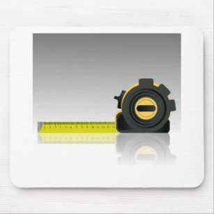 steel ruler mouse pad
