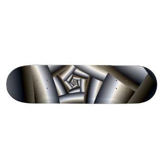 Steel Spiral Skateboard