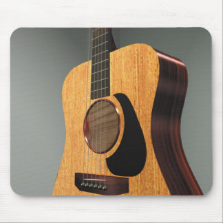 Steel String Guitar Mouse Pad