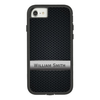 Steel striped dark metal Case-Mate tough extreme iPhone 8/7 case