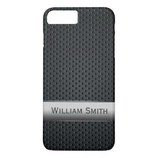 Steel striped dark metal iPhone 8 plus/7 plus case