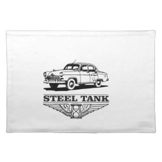 steel tank cars placemat
