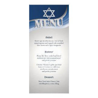 Steel Wave Bar Mitzvah Menu