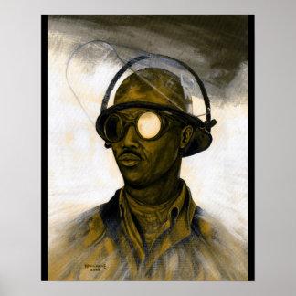 Steel Worker Poster
