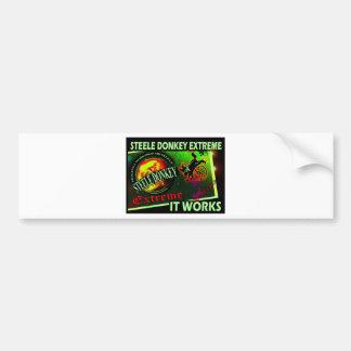 Steele Donkey Barbados Bumper Sticker
