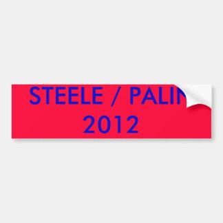 STEELE PALIN2012 BUMPER STICKERS